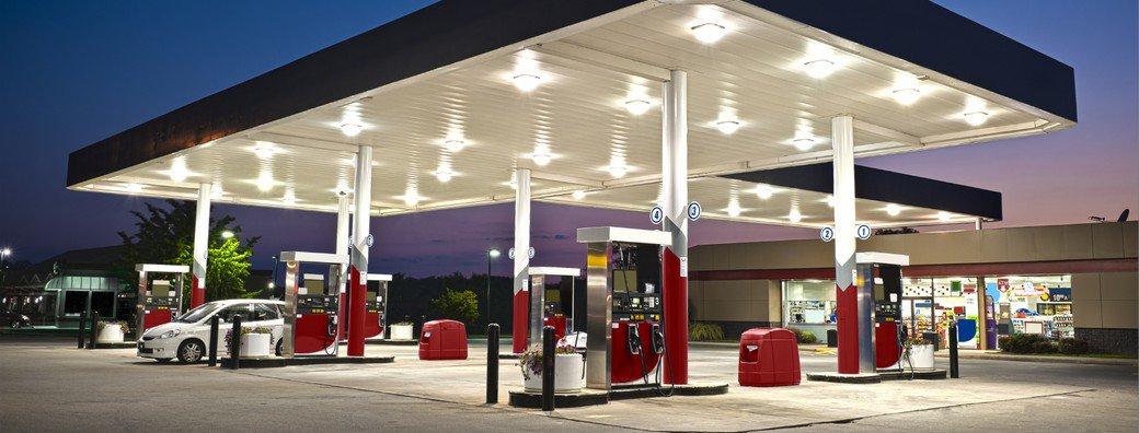 Bouwmans eerste benzinestation in Brabant met Blauwe Diesel