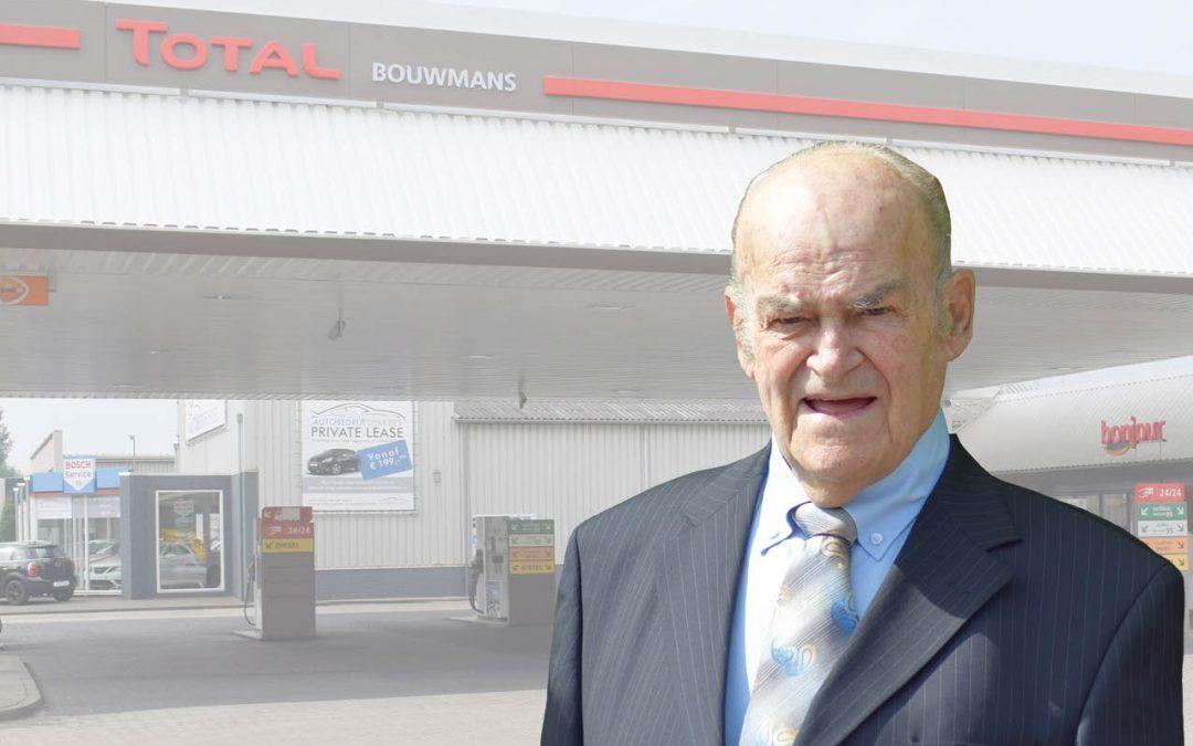 Overlijdensbericht de heer Jan Bouwmans.