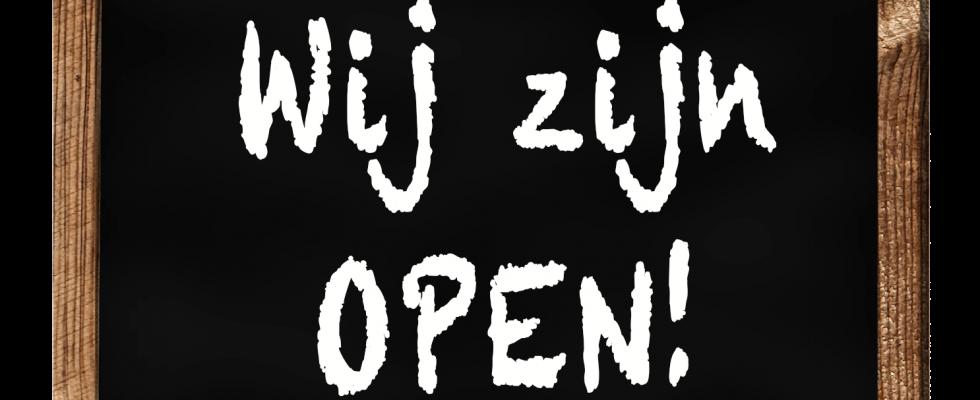 Opening vernieuwde shop!